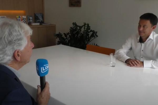 Lokale Omroep Nuenen interviewt Sylvester Putters